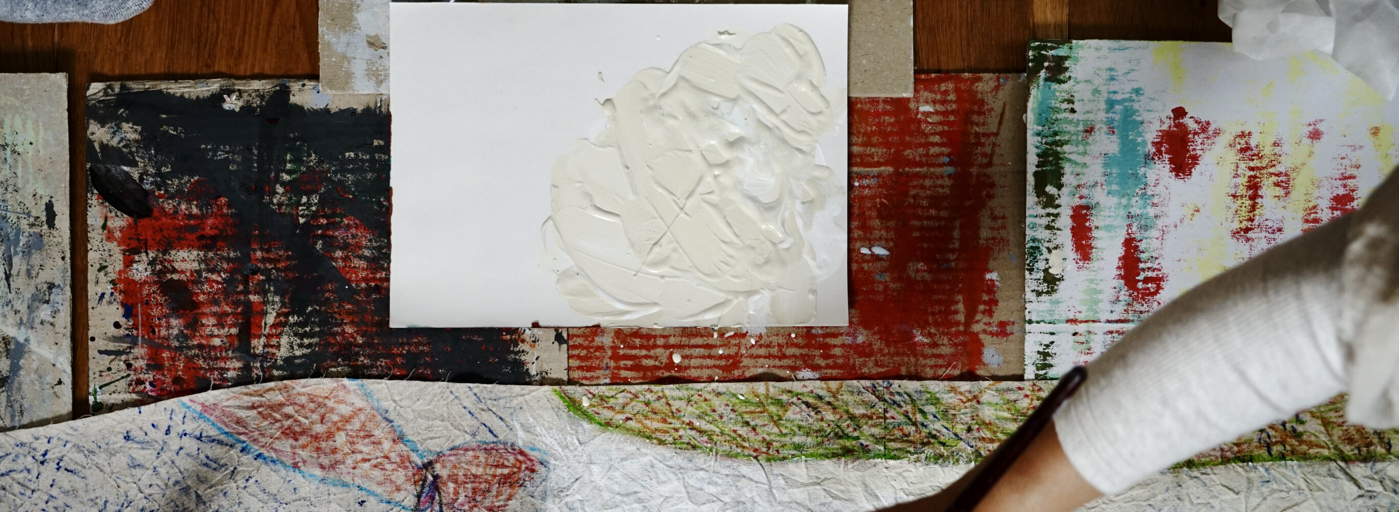 布と絵の具とkapoc